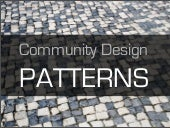 Online Communities Design Patterns