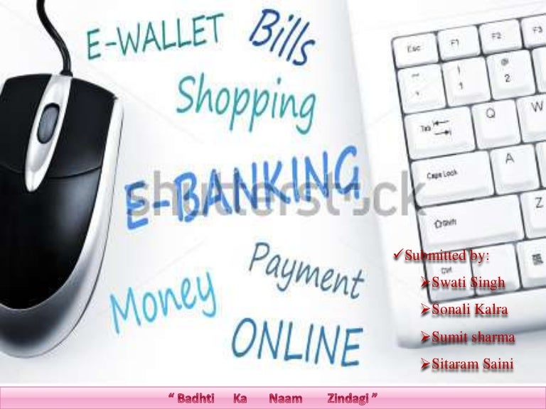 e banking of axis bank
