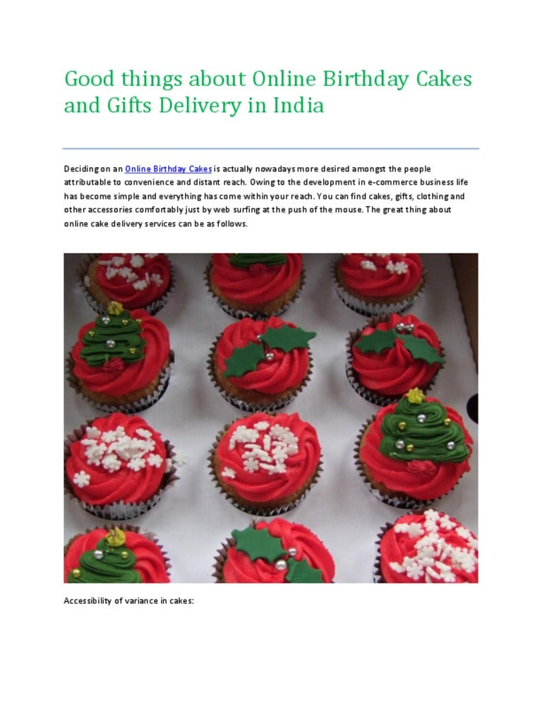 Online Birthday Cakes And Online Gift Delivery In India