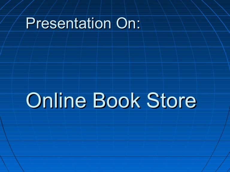 On line book store presentation ccuart Images