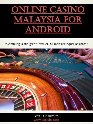 Online casino malaysia for android