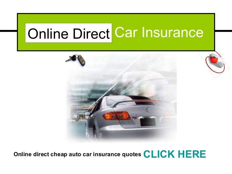 Online Direct Car Insurance affordable cheap auto,car ...