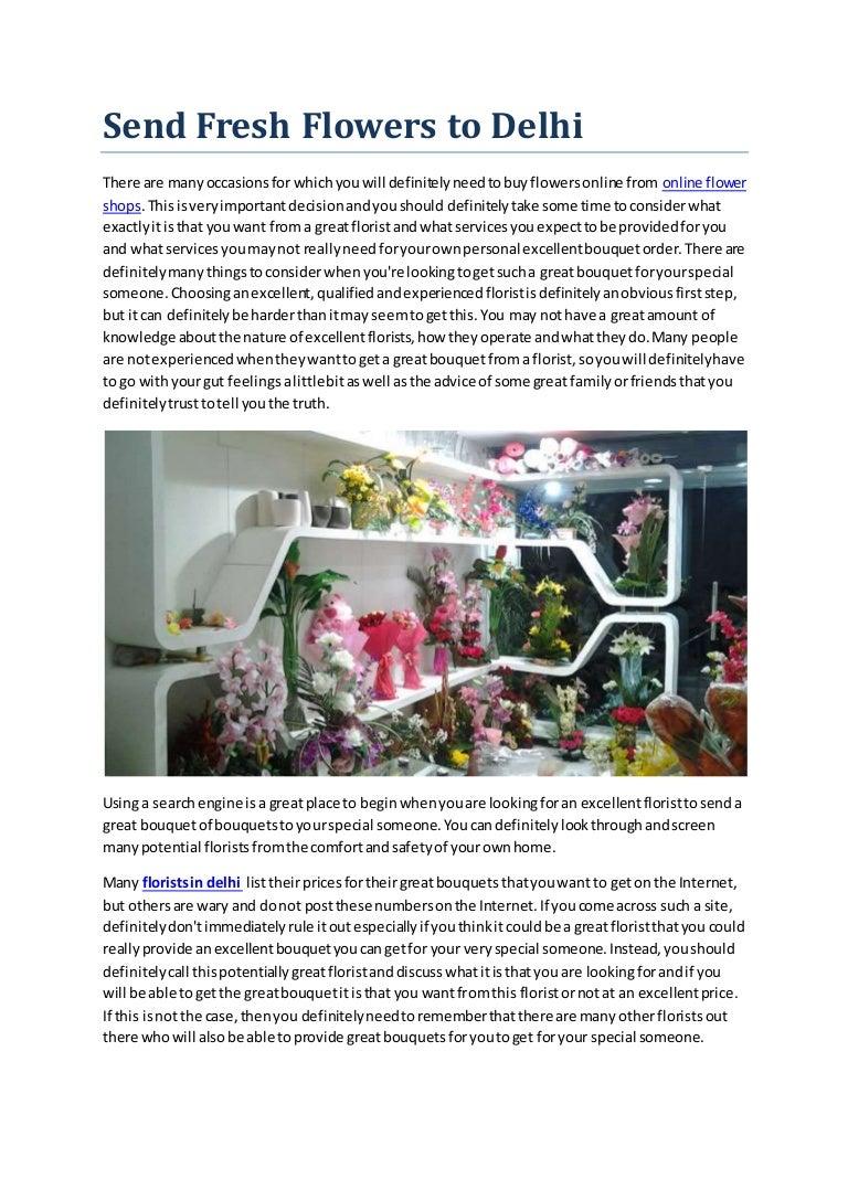 Online Flower Delivery Delhi Florist In Delhi