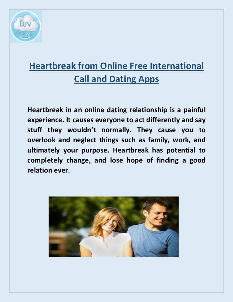 Online dating Heartbreak