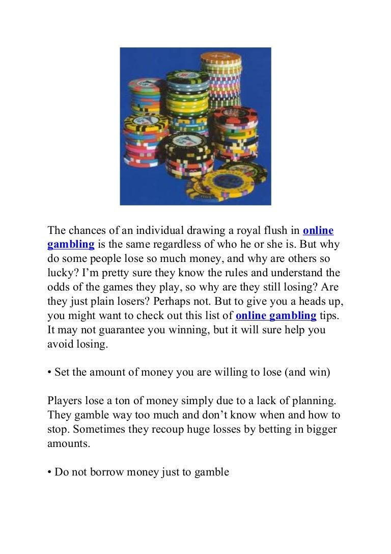 Recoup losses gambling the gambling man book amazon