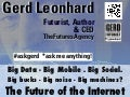 The Future of The Internet: Big Data, SoLoMo, Privacy, Human Machines?