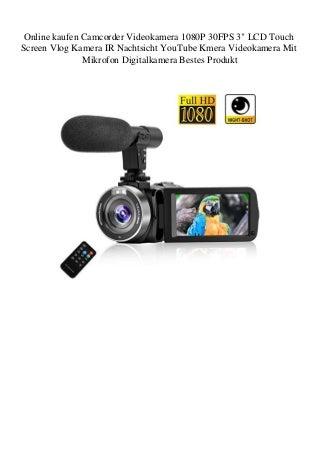 onlinekaufencamcordervideokamera1080p30f