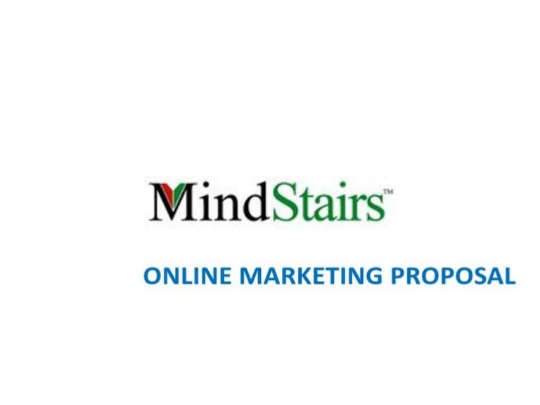 Online Marketing Proposal for Education Sectors
