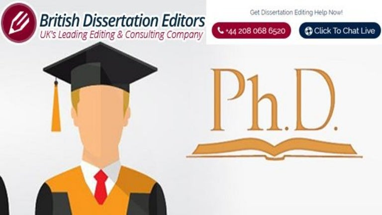 Doctoral dissertation help uk
