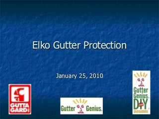 Elko Gutter Protection