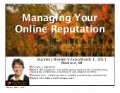 Online reputation management using social media | Wendy Soucie Consulting