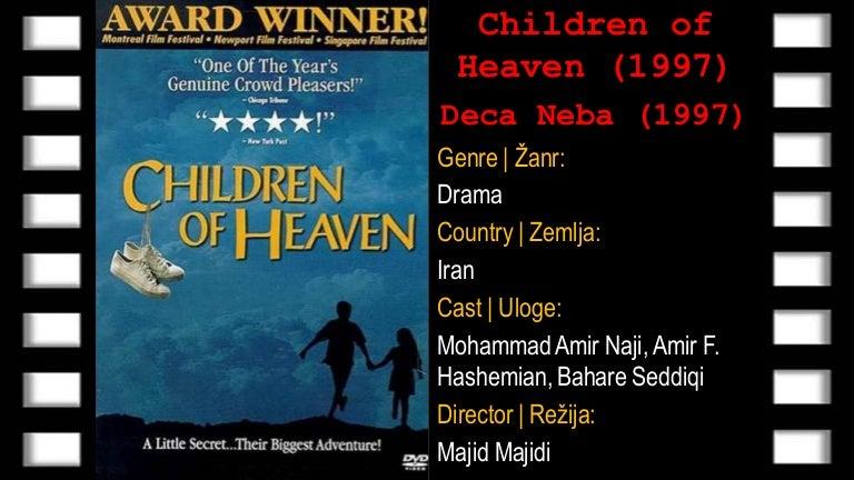 Children of Heaven (Deca Neba) 1997 | Online sa prevodom