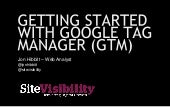 Getting Started with Google Tag Manager for eCommerce