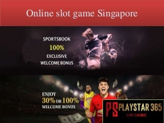 Online slot game singapore