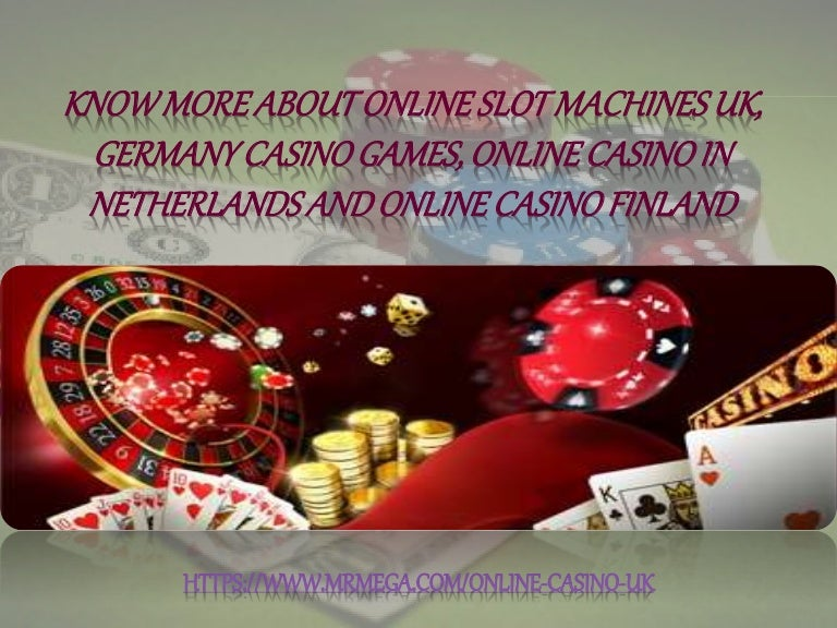 Online Slot Machines Uk
