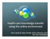 Online Technology For Occupational Therapy Presentation