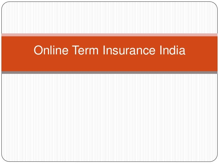 The Top Online Term Life insurance in India