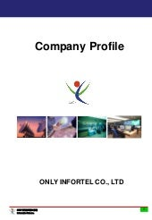 Only InforTel Company Profile (English)
