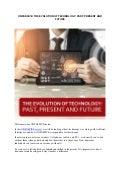 Onpassive evolution of technology