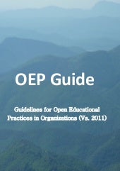 Open Educational Practice - Quality  Guidelines for successfully using Open Educational Resources