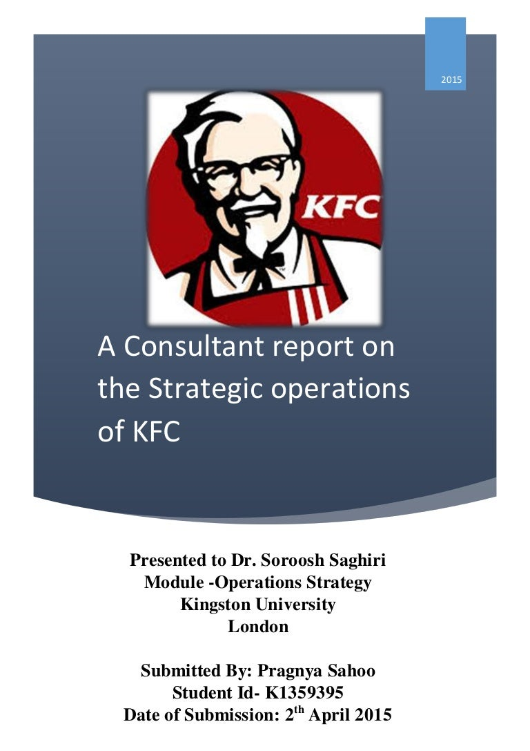 aims and objectives of kfc Corporate objectives tend to focus on the desired performance and results of the business it is important that corporate objectives cover a range of key areas where the business wants to achieve results rather than focusing on a single objective.