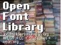 Open Font Web 1.0