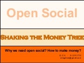 Open Social - Shaking the money tree