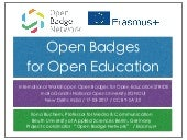 Open Badges for Open Education