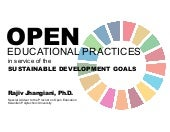 Open Educational Practices in Service of the Sustainable Development Goals