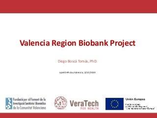 OpenEHR day 2019 valencia biobanks