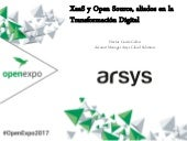 XaaS y Open Source, aliados en la Transformación Digital - OpenExpo 2017