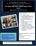 Creekview High School Exemplary Media Program Open House Flyer