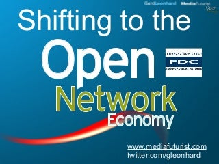 Shifting to the Open Network Economy (FDC CEO Event in Sao Paolo)