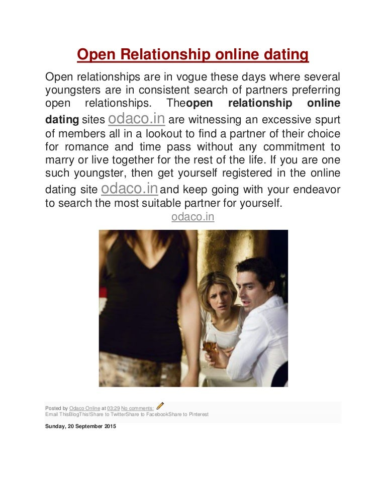 open relationship dating app