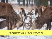 Open scholarship paradoxes