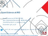 Open Science at IRD