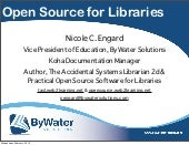 Practical Open Source Software for Libraries