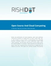 Open source and cloud computing