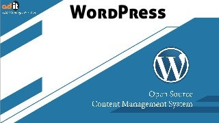 WordPress Website Development Use Open Source CMS