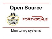 Open source monitoring systems