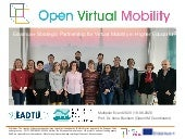 Erasmus+ Strategic Partnership for Open Virtual Mobility in Higher Education