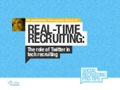 Real-Time Recruiting: The Role of Twitter in Tech Hiring