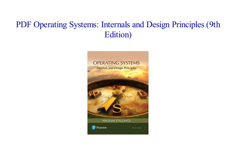 Operating Systems Internals And Design Principles 9th Edition Ebook