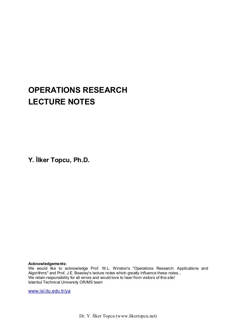 Operations Research Operationsresearch  Phpapp Thumbnail  Operations Research
