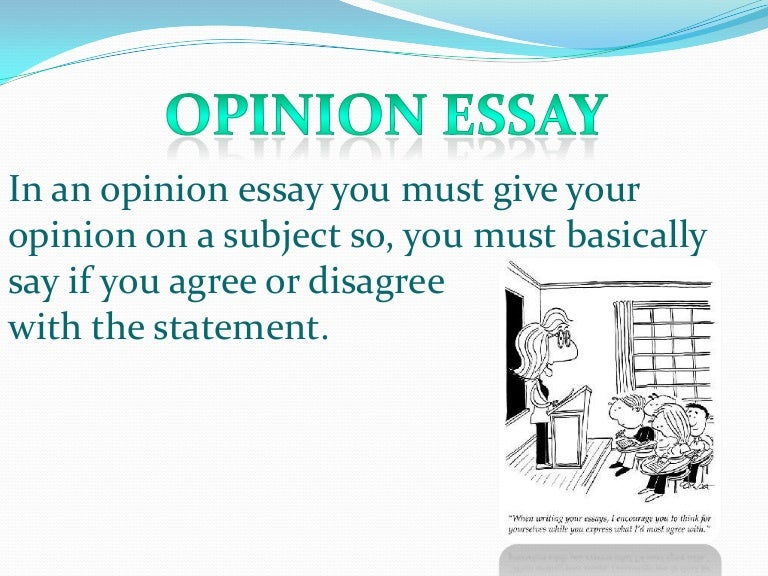 Opinion essay sample esl   Order Custom Essay Online