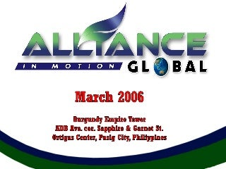 AIM GLOBAL SLIDE PRESENTATION