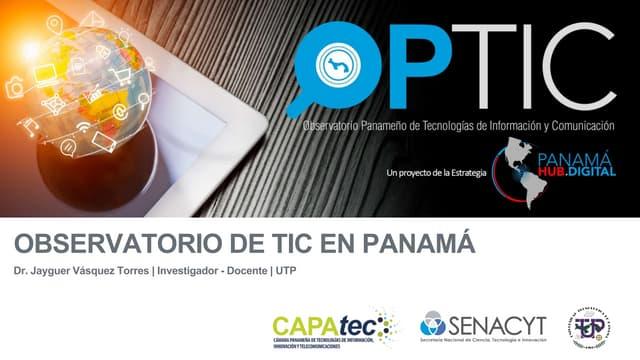 OPTIC - Observatorio de TIC en Panama