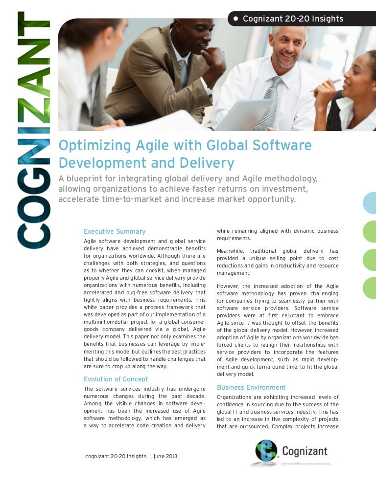Optimizing agile with global software development and delivery malvernweather Choice Image