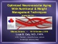 Optimizing Neurovascular Aging With Nutritional & Weight Management Techniques