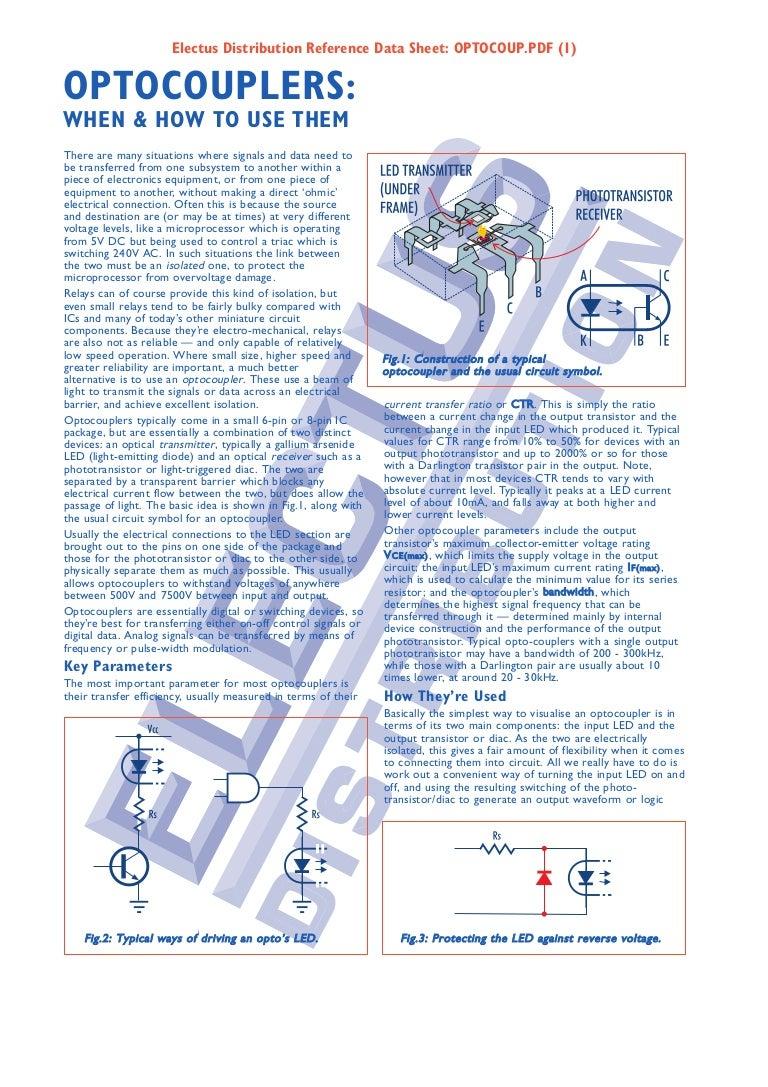 Optocoup Opto Triac Circuit